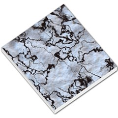 Marbled Lava White Black Small Memo Pads