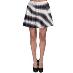 Zebra Print Abstract  Skater Skirts