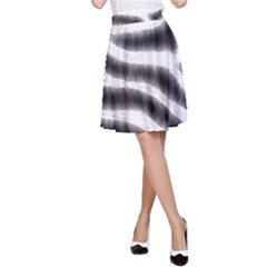 Zebra Print Abstract  A Line Skirts