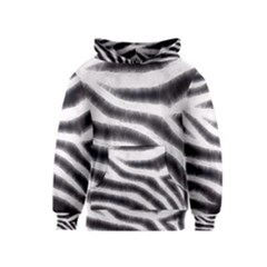 Zebra Print Abstract  Kid s Pullover Hoodies