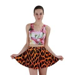 Lava Abstract  Mini Skirts