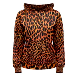Lava Abstract  Women s Pullover Hoodies