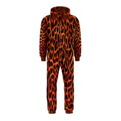 Lava Abstract  Hooded Jumpsuit (Kids)