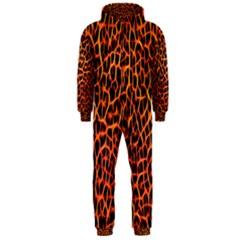 Lava Abstract  Hooded Jumpsuit (Men)