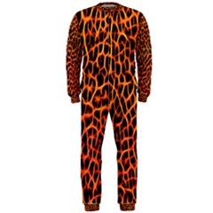 Lava Abstract  OnePiece Jumpsuit (Men)