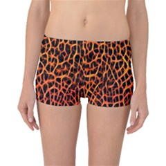 Lava Abstract  Boyleg Bikini Bottoms