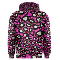 Pink Cheetah Abstract  Men s Pullover Hoodies