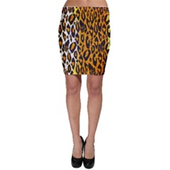 Animal Print Abstract  Bodycon Skirts