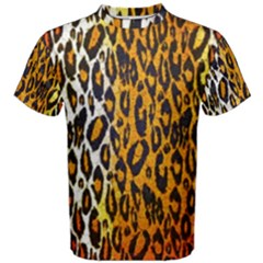 Animal print Abstract  Men s Cotton Tees