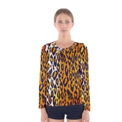 Animal print Abstract  Women s Long Sleeve T-shirts