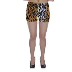 Animal print Abstract  Skinny Shorts