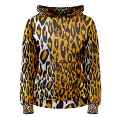 Animal Print Abstract  Women s Pullover Hoodies