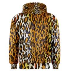 Animal print Abstract  Men s Zipper Hoodies