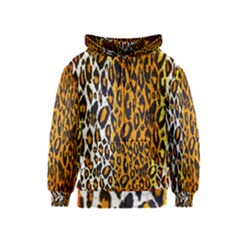 Animal Print Abstract  Kids Zipper Hoodies