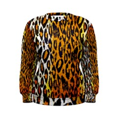 Animal print Abstract  Women s Sweatshirts