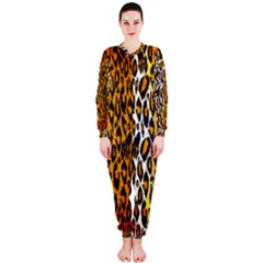 Animal print Abstract  OnePiece Jumpsuit (Ladies)
