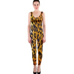 Animal print Abstract  OnePiece Catsuits