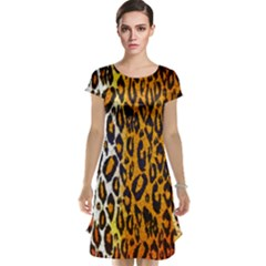 Animal print Abstract  Cap Sleeve Nightdresses