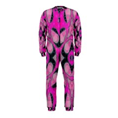 Pink Black Abstract  OnePiece Jumpsuit (Kids)