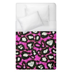 Pink Black Cheetah Abstract  Duvet Cover Single Side (single Size)