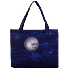 Moon And Stars Tiny Tote Bags