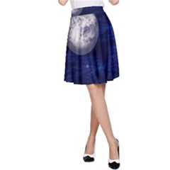 Moon and Stars A-Line Skirts