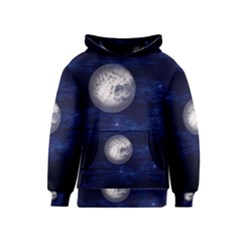 Moon And Stars Kid s Pullover Hoodies