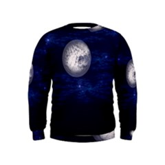 Moon and Stars Boys  Sweatshirts