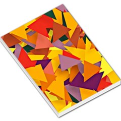 Geo Fun 8 Colorful Large Memo Pads