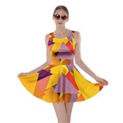 Geo Fun 8 Colorful Skater Dresses