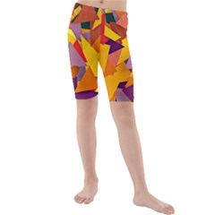 Geo Fun 8 Colorful Kid s swimwear