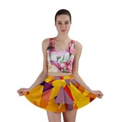 Geo Fun 8 Colorful Mini Skirts