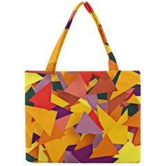 Geo Fun 8 Colorful Tiny Tote Bags