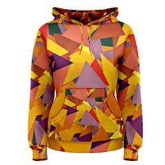 Geo Fun 8 Colorful Women s Pullover Hoodies