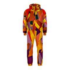 Geo Fun 8 Colorful Hooded Jumpsuit (Kids)