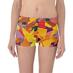 Geo Fun 8 Colorful Boyleg Bikini Bottoms