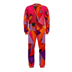 Geo Fun 8 Hot Colors OnePiece Jumpsuit (Kids)
