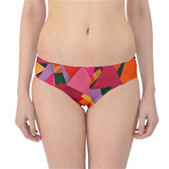 Geo Fun 8 Hot Colors Hipster Bikini Bottoms