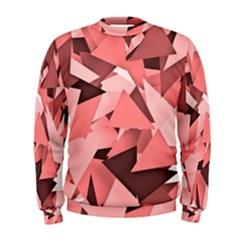 Geo Fun 8 Peach Men s Sweatshirts