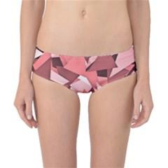 Geo Fun 8 Peach Classic Bikini Bottoms