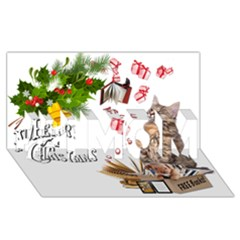 Free books for Christmas #1 MOM 3D Greeting Cards (8x4)