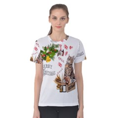 Free books for Christmas Women s Cotton Tees