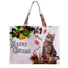 Free books for Christmas Zipper Tiny Tote Bags