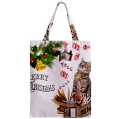 Free books for Christmas Zipper Classic Tote Bags
