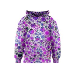 Lovely Allover Flower Shapes Pink Kid s Pullover Hoodies