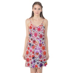 Lovely Allover Flower Shapes Camis Nightgown