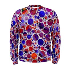 Lovely Allover Hot Shapes Blue Men s Sweatshirts