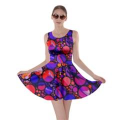 Lovely Allover Hot Shapes Skater Dresses