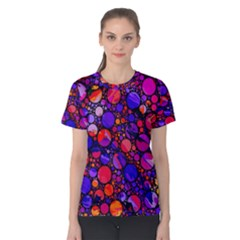 Lovely Allover Hot Shapes Women s Cotton Tees