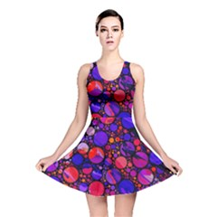 Lovely Allover Hot Shapes Reversible Skater Dresses